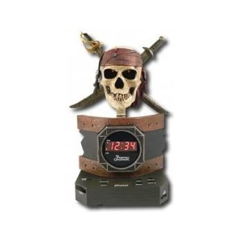Amazon Com Disney Pc300acr Pirates Of The Caribbean Alarm