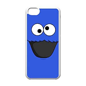 iPhone 5c Cell Phone Case White Cookie Monster Xypg
