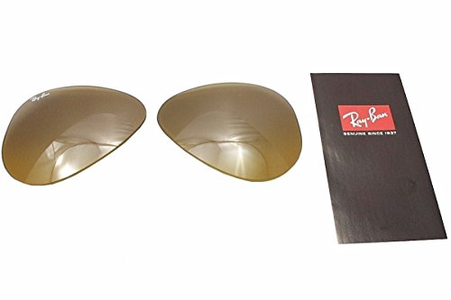 Ray Ban RB3025 3025 RayBan Sunglasses Replacement Lens BrownMirrorSilver - Replacement Lenses Glass Ray Ban