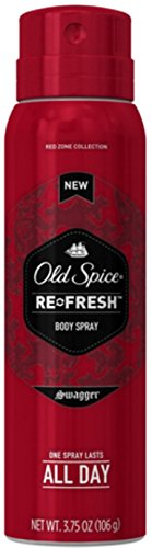 Old Spice Re-Fresh Body Spray, Swagger 3.75 oz (Pack of 7) (Old Spice Refresh compare prices)