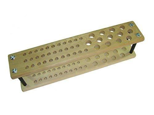 Major Brushes MDF Wooden Paint Brush Holder Stand (45 Brush Capacity
