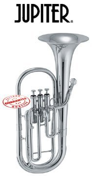 Jupiter Silver Plated Eb Alto Horn 456S by Jupiter