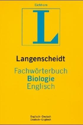 Langenscheidts Fachwörterbuch, Fachwörterbuch Biologie, Englisch-Deutsch