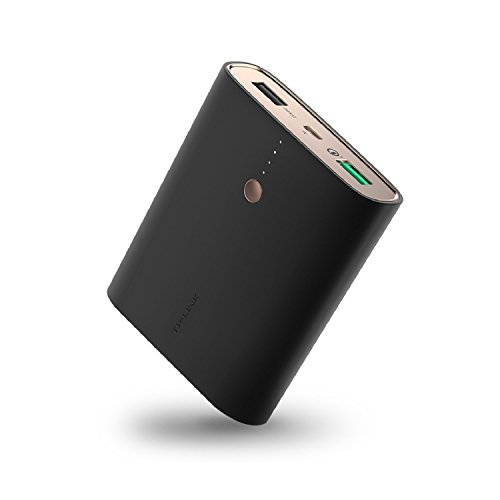 [Quick Charge 3.0] TP-Link 13400mAh Qualcomm Certified Quick Charge 3.0 Power Bank, with Smart Charging, High-Speed Universal Portable Charger for Samsung Galaxy, iPhone, iPad & More