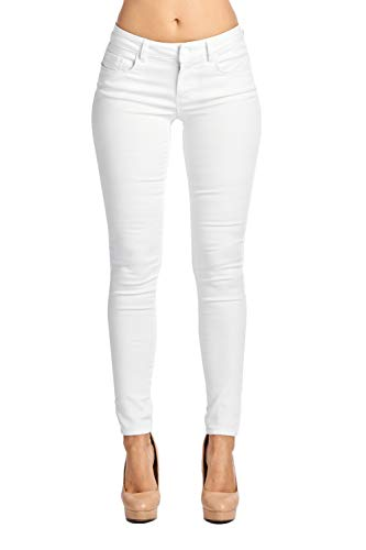 (Blue Age Multistyle Denim and Cotton Skinny Jeans/Pants (1, JP1022_White))