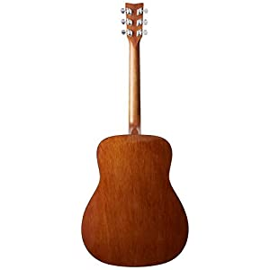 Yamaha F310 TBS Westerngitarre braun sunburst – Hochwertige Dreadnought-Akustikgitarre für Erwachsene & Jugendliche – 4/4 Gitarre aus Holz