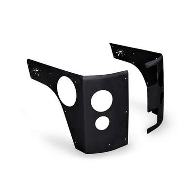 Trail Corners for Jeep JK Wrangler Unlimited 4 Door with Flush Mounted LED Tail lights ()