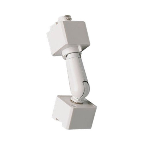 Nora Lighting NT-333 Sloped Ceiling Adaptor for Track Lighting, White by Nora Lighting