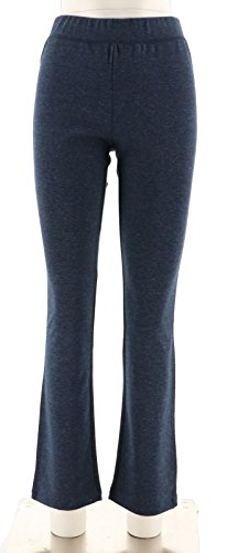 Isaac Mizrahi SOHO Bootcut Double Knit Pants A267502, Night Indigo, (Bootcut Double Knit)