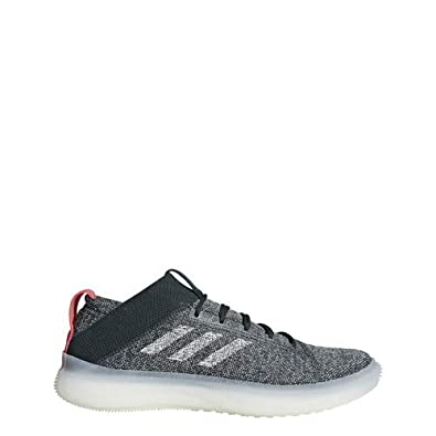 ce8be3aa2f427 adidas Men s Pureboost Trainer Legend Ivy Ash Silver Shock Red 7 ...