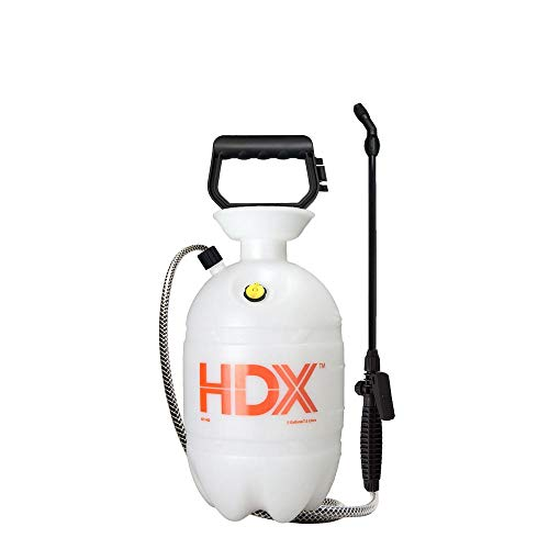 HDX Pet Control Sprayer, Weed Control Sprayer - 2 Gallon, Multi-Purpose, Comfortable-Grip Pump Handle, Polyethylene Funnel TOP Tank, Corrosion-Resistant Nozzle Spray System - #1502HDXA (256) - Funnel Top Sprayer