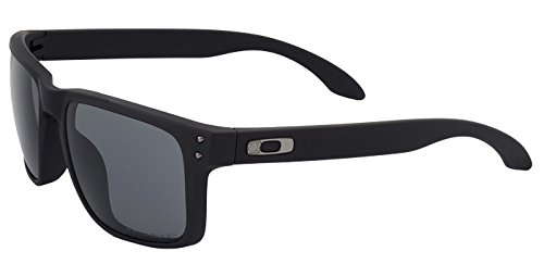 Oakley SI Holbrook Cerakote Graphite Black Frame, Grey Polarized - Lenses Oakley Polarized Grey Holbrook