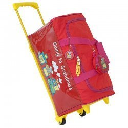 Going to Grandma's Children's Duffel Bag Color Red
