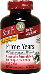 Schiff Prime Years Multivitamins, 200 Count