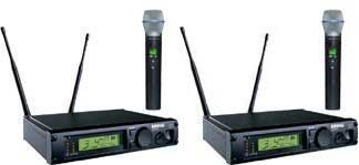 Shure ULXP24D/BETA87A Dual Handheld Wireless System, J1