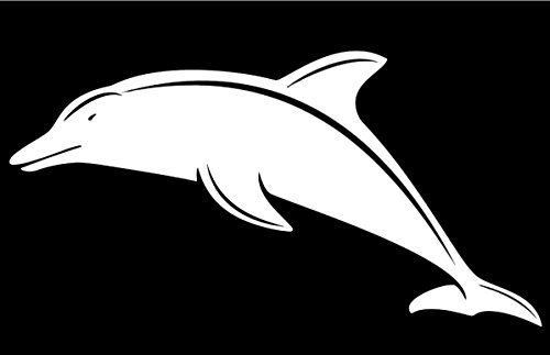 West Bengal Costumes (Dolphin Decal Vinyl Sticker|Cars Trucks Walls Laptop|WHITE|7.5 X 4 In|URI055)