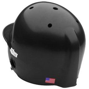 Schutt Sports AiR-Pro Ponytail Port Batter's Helmet, One Size Fits Most, High Gloss Black