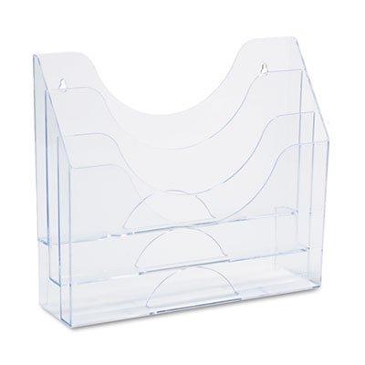 Rubbermaid Three-Pocket File Folder Organizer, Plastic, 1...