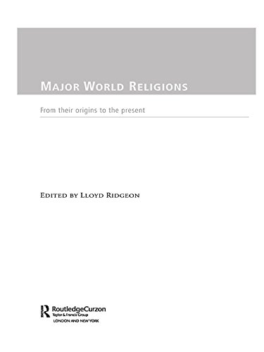 Download Major World Religions: From Their Origins To The Present Pdf