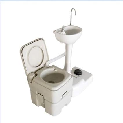 Lavabo Recicla Agua.Amazon Com Lavabo Con Grifo Portatil Para Inodoro Lavabo
