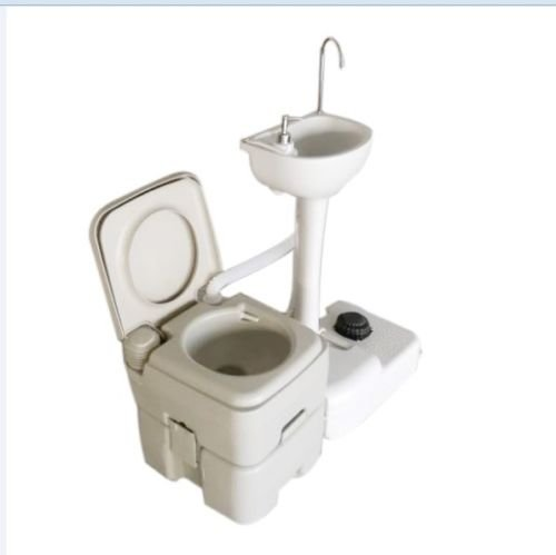 - Limited Supply Environmental Protection Wash Basin Sink 5 Gallon Portable Toilet Flush Wastewater Recycled for Car, Boat, Caravan, Hospital