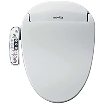 Novita Slimline Bidet Toilet Seat Elongated Model Bn 330