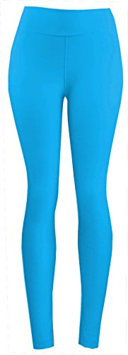 - 31MAnbmUPKL - Women's Extra Soft Leggings with High Yoga Waist Pants 40+ Colors Plus Sizes