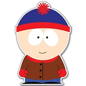 Top Amazon.com: South Park Stan Marsh Vynil Car Sticker Decal - Select  YL18