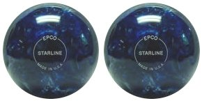 EPCO Candlepin Bowling Ball- Starline - Blue & Pearl double Ball