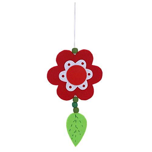 Easter Ornaments Flower Pendant Petal Pendant Home Hanging Decorations by CAVSDARR (Image #1)