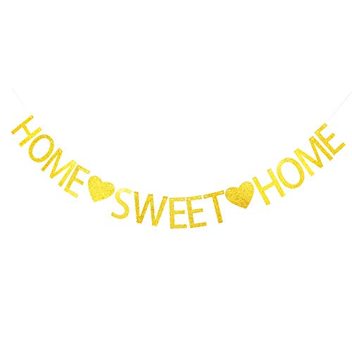 Home Sweet Home Banner for Home Decoration, Housewarming,Family Party Supplies Pertlife by Pertlife