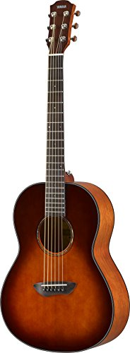 Yamaha CSF1M TBS Parlor Size Acoustic Guitar - Tobacco Brown Sunburst