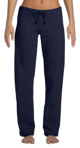 Bella Canvas Ladies Fleece Straight Leg Sweatpant, Small, - Sweatpants Leg Straight Bella