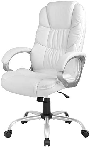 Office Chair Computer High Back Adjustable Ergonomic Desk Chair Executive PU Leather Swivel Task Chair