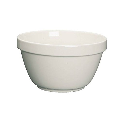 Kitchen Craft Pudding Basin Traditional 1Litre 17cm - Ceramic (Pack of 2)