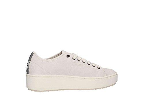 Sneaker Tessuto Canvas Antiscivolo Mells05 Taglia Scarpe Bianco Modello Gomma Blauer In Fondo Donna Basse 36 ZAw5nqa