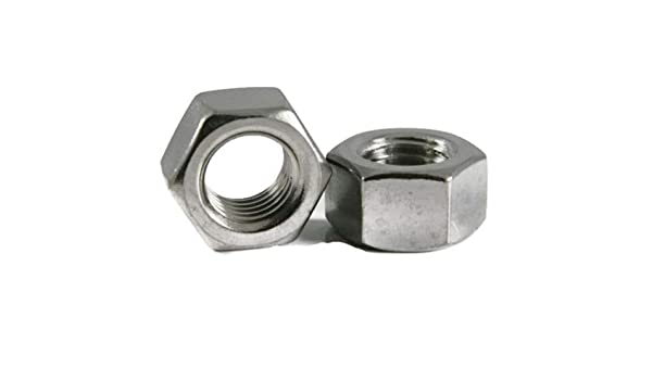 50 pcs ASTM F594 Hex Finished Nuts AISI 316 Stainless Steel 5//16-24