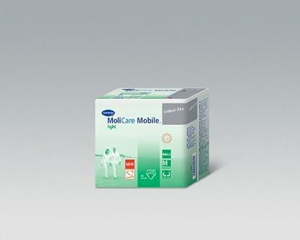 MoliCare Mobile Light - Pañales para adultos, talla XL (4 paquetes, 14 unidades