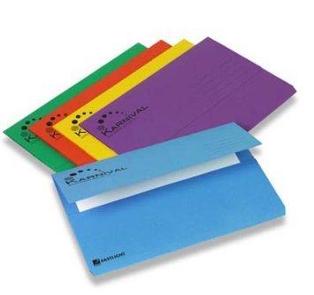 Carpeta Documentos Rexel Karnival tamaño folio A4 colores surtidos ...