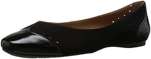 Black Flat French NY Civil Women's Sole FS Ballet gqwR0A