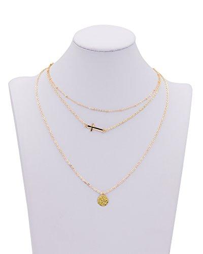 Zealmer Multilayer Pendant Necklace Necklaces