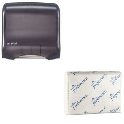 KITGEP20241SJMT1750TBKRD - Value Kit - Georgia Pacific C-Fold Paper Towel (GEP20241) and San Jamar Ultrafold Towel Dispenser (SJMT1750TBKRD)