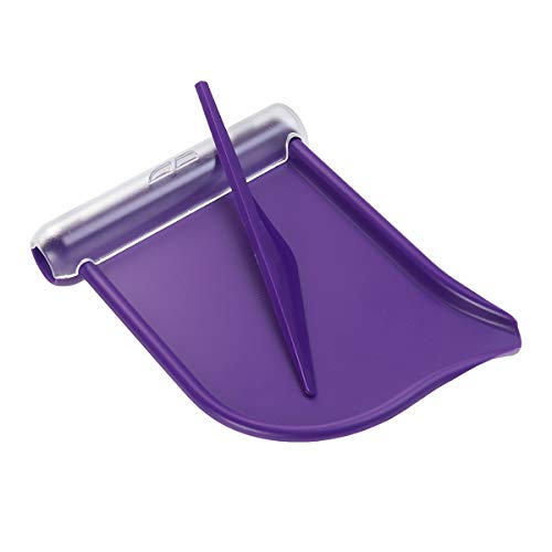 SUPVOX Bandeja de conteo de Pastillas con espátula Cubierta de canaleta púrpura
