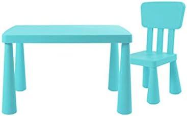 SSHHM Juego de mesa y silla para niños,Mesas de Educación Infantil ...