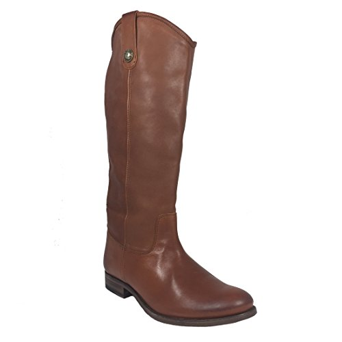Frye Mujeres Melissa Button Tall Cognac 8 M Mujeres