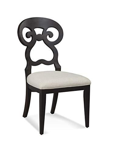 Bassett Mirror Company Dining Side Chair in Espresso Finish - Set of 2 (Bassett Dining)