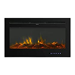 BAHOM Electric Fireplace by BAHOM