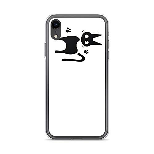 iPhone XR Case Cases Clear Anti-Scratch Kiki,It's me! Cover Case for iPhone XR, Crystal Clear]()