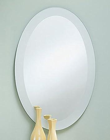 mirror 20 x 36. frosted border oval wall mirror - 20\u0026quot; x 28\u0026quot; 20 36 i