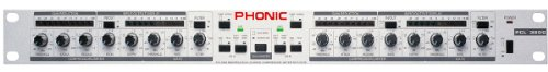 Phonic PCL 3200 - Dual Channel Compressor and (Dual Channel Compressor Limiter)
